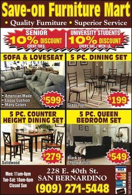 Sensational Save On Furniture Closed Furniture Stores 228 E 40Th Interior Design Ideas Pimpapslepicentreinfo