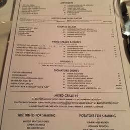 Photos for Morton's The Steakhouse | Menu - Yelp