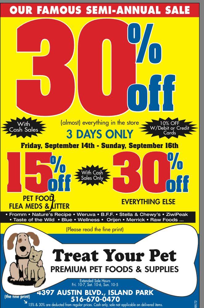 Treat Your Pet Inc: 4397 Austin Blvd, Island Park, NY