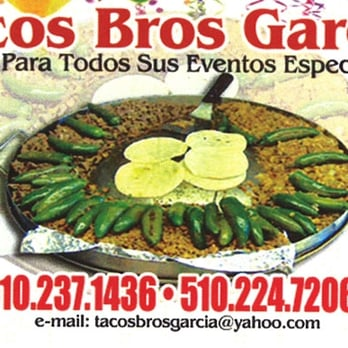 Tacos Brothers Garcia - 18 Reviews - Caterers - 1412 25th St, Richmond ...
