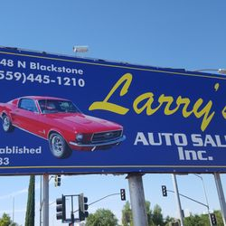 Larrys Auto Sales Used Car Dealers 748 N Blackstone Ave Fresno