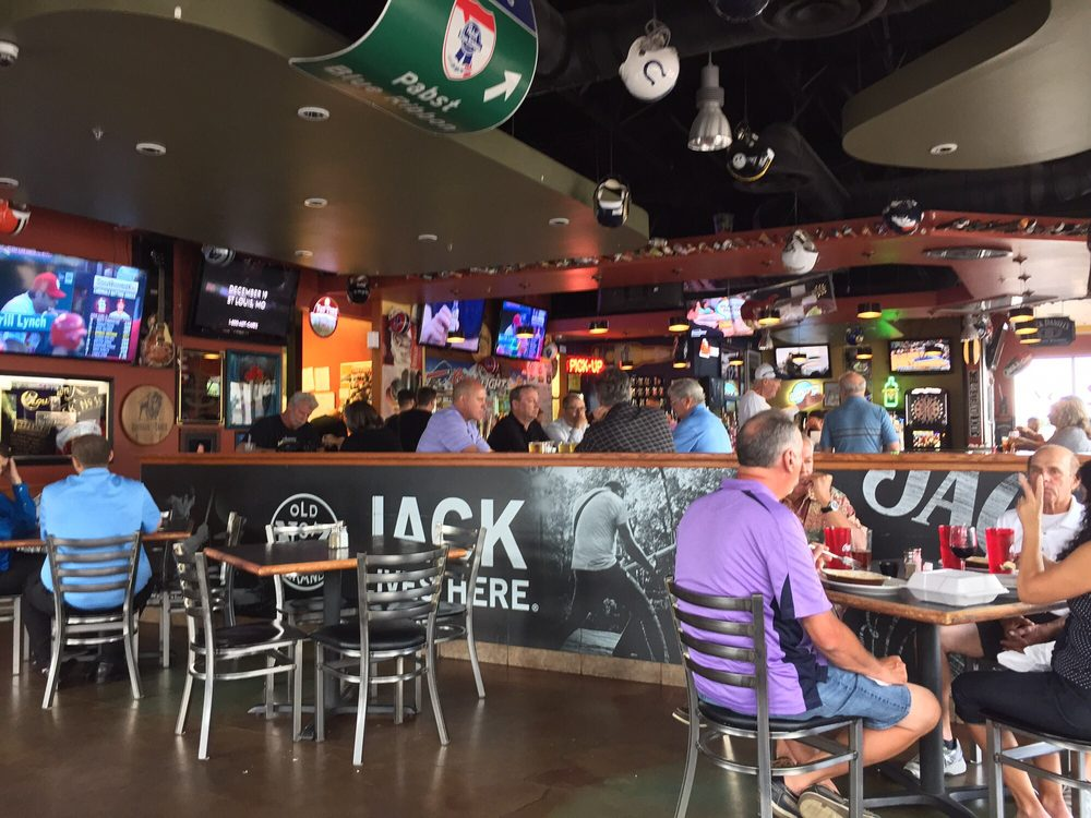Photo of Back East Bar and Grill - Colorado Springs, CO, United States. The interior. Well decorated, nicely lit, and hospitable dining facility.