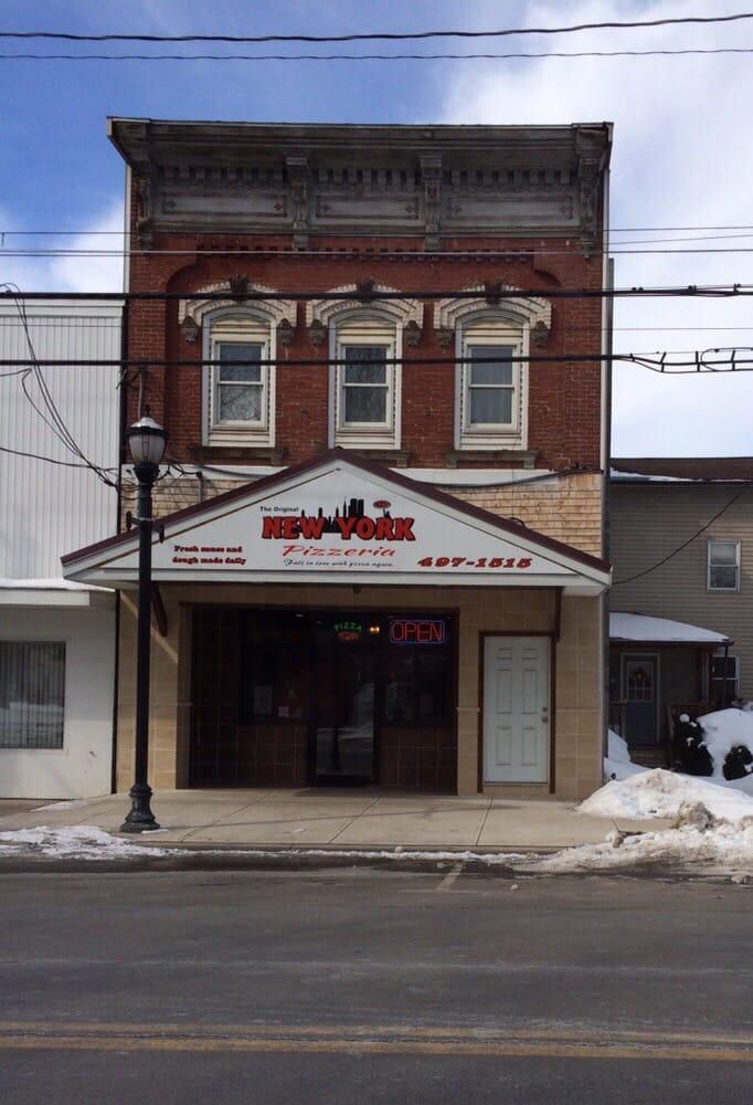 New York Pizzeria: 117 Main St, Moravia, NY