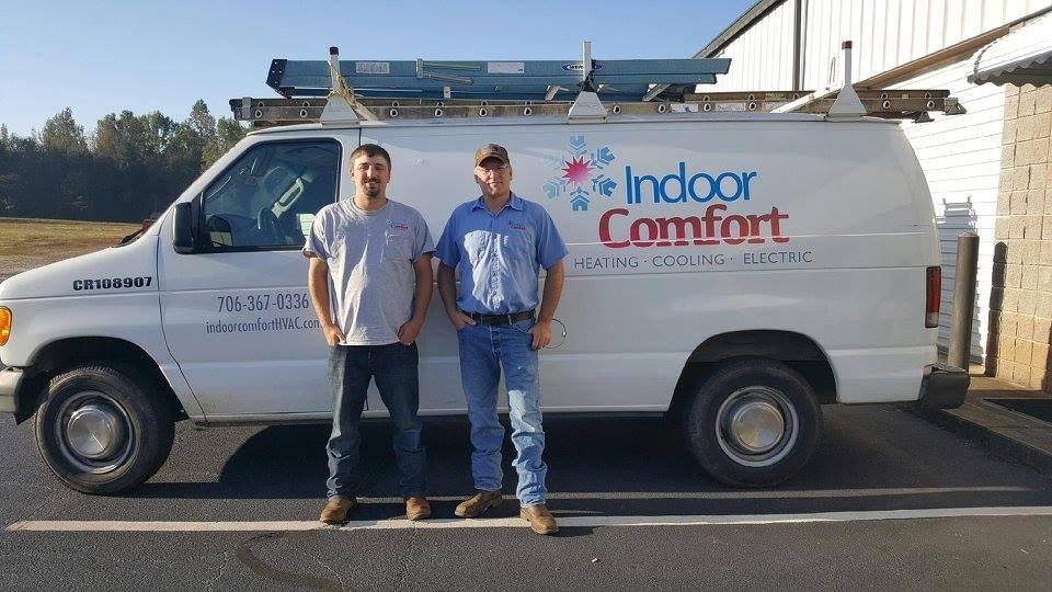 Indoor Comfort Heating Cooling Electric: 32 Apex Dr, Jefferson, GA