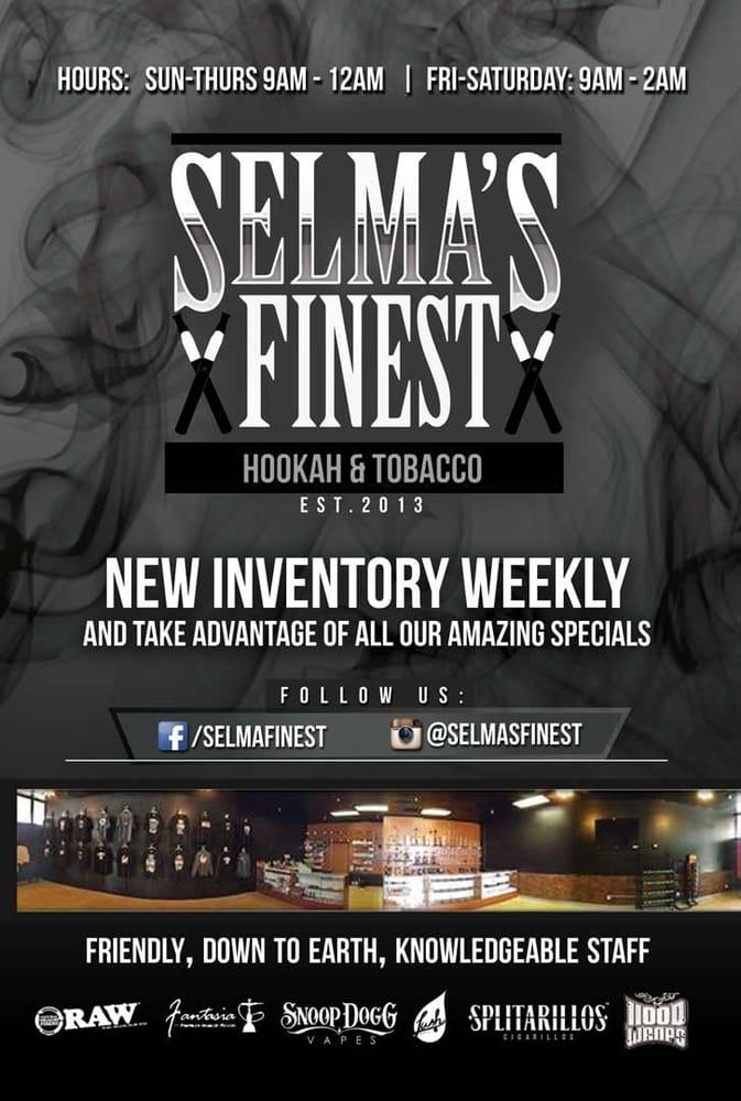 Selma's Finest Hookah & Tobacco