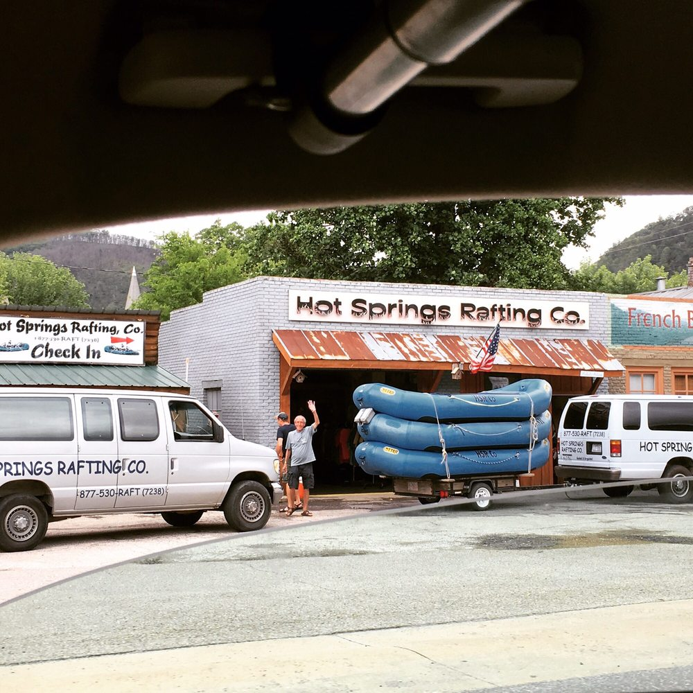 Hot Springs Rafting: 81 Bridge St, Hot Springs, NC