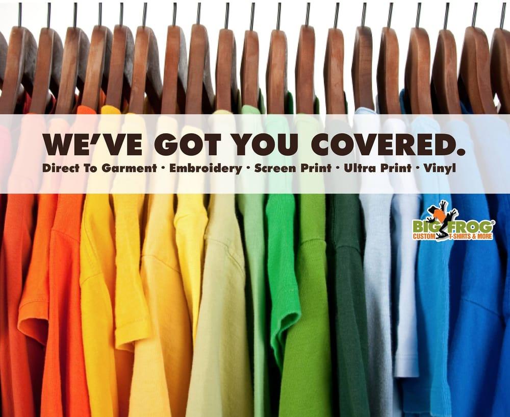 Big Frog Custom T-Shirts & More: 336 Rockwood Rd, Arden, NC