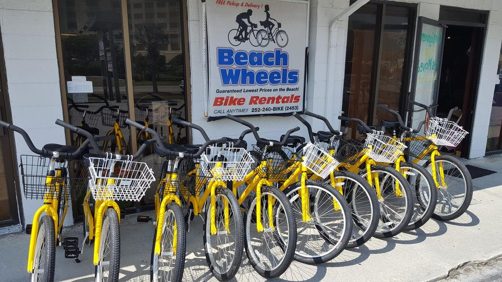 Beach Wheels Bike Rental: 1420 Salter Path Rd, Atlantic Beach, NC