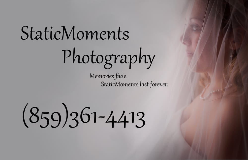Static Moments Photography: 1067 N Main St, Nicholasville, KY