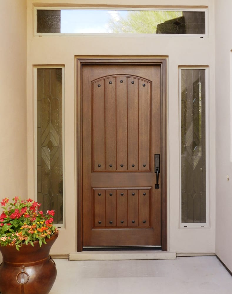 Thermatru Ccr8205 Rustic Door Finished In Walnut 1 1 2