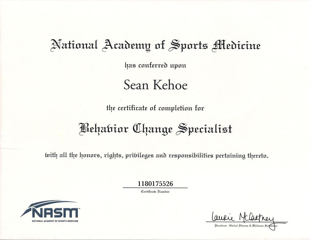 Behavior Change Specialist Certification - Yelp