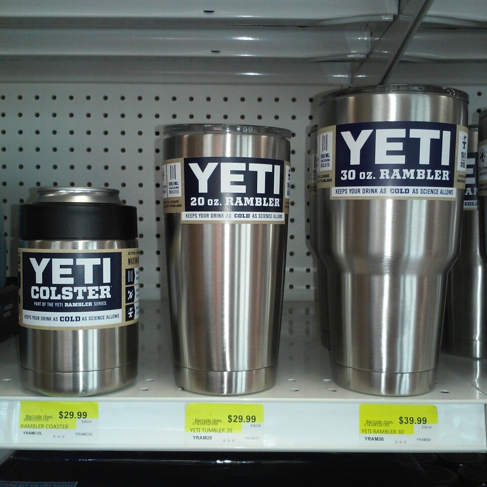 We Carry A Full Line Of Yeti Cups And Coolers Get Yours