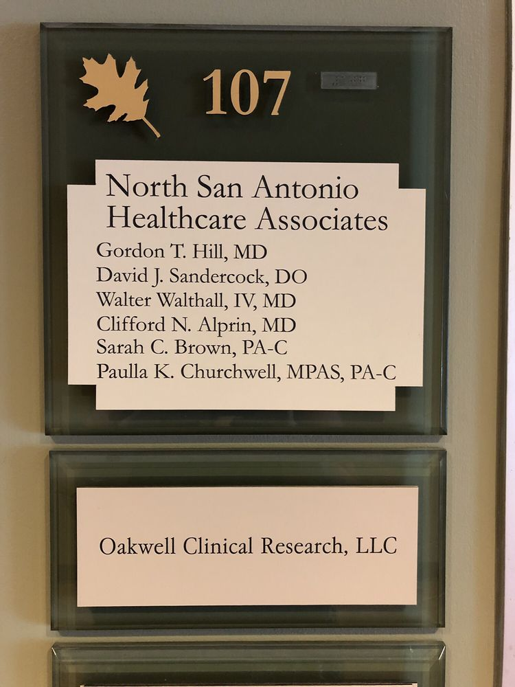 North San Antonio Healthcare Associates