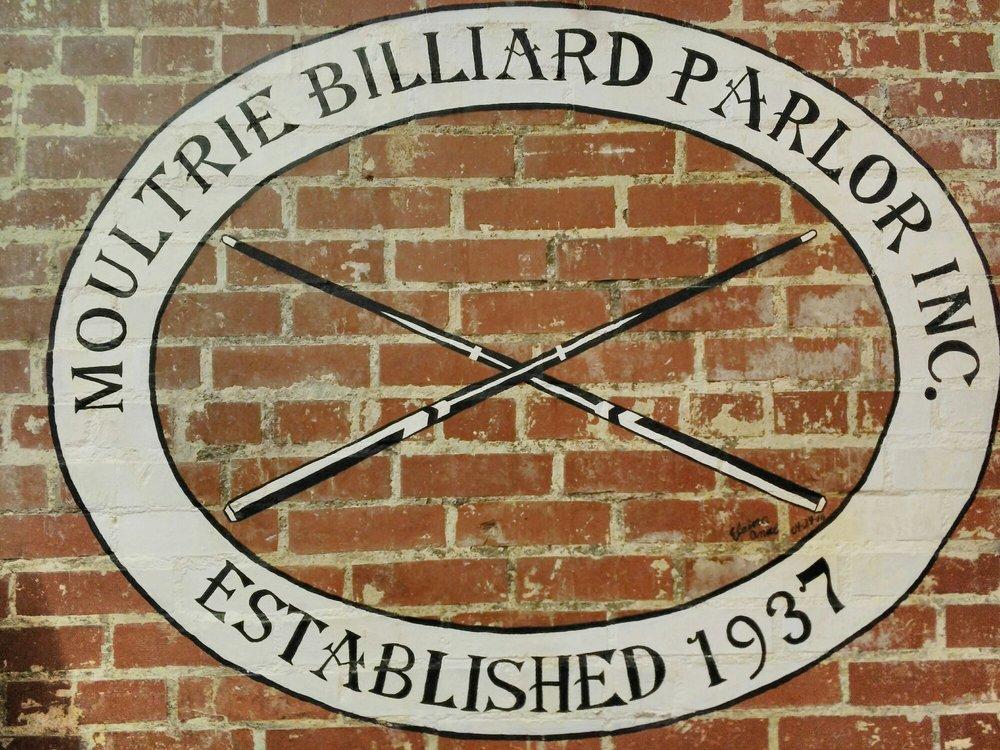 Moultrie Billiard Parlor: 7 1st Ave NE, Moultrie, GA