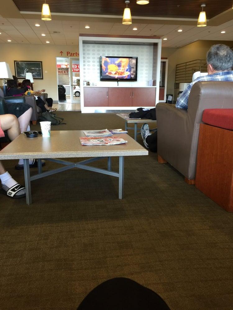 Toyota Renton Service >> Waiting room - Yelp