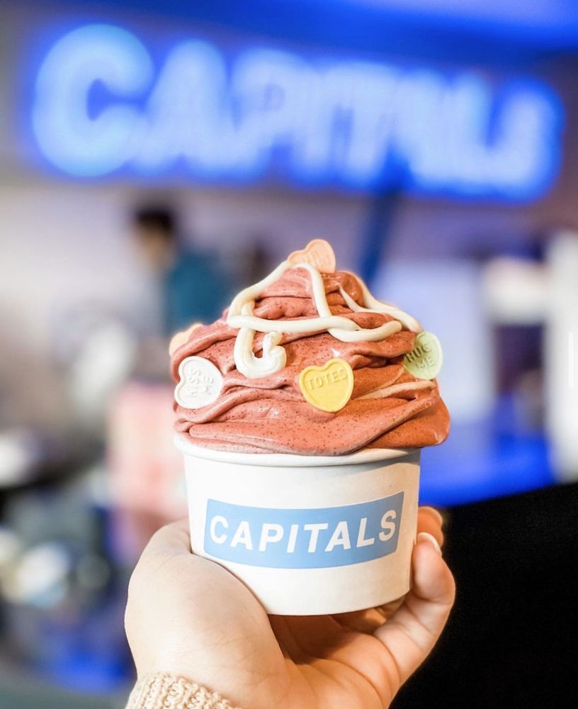 Social Spots from Capitals Ice Cream