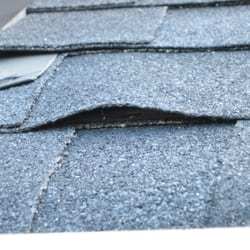 Photo Of Sunrise Roofing   Markham, ON, Canada. Poorly Nailed Shingles Left  With ...