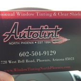 Auto tint 24 reviews auto glass services 1728 w bell rd photo of auto tint phoenix az united states business card colourmoves