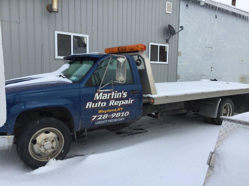 Martin's Auto Repair of Wayland: 1 Millen St, Wayland, NY