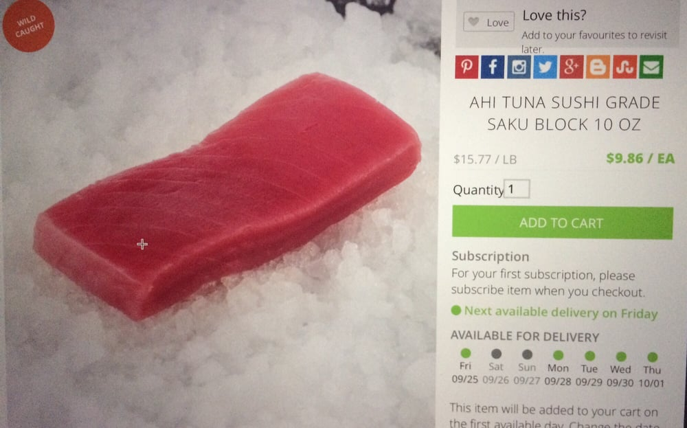 Opentaste 10 photos 25 reviews supermarkets 938 for Where to buy sushi grade fish near me