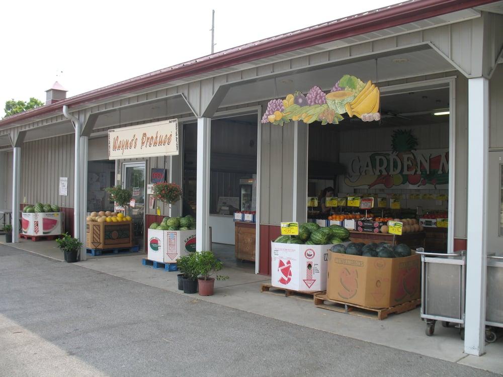Food from Wayne's Market