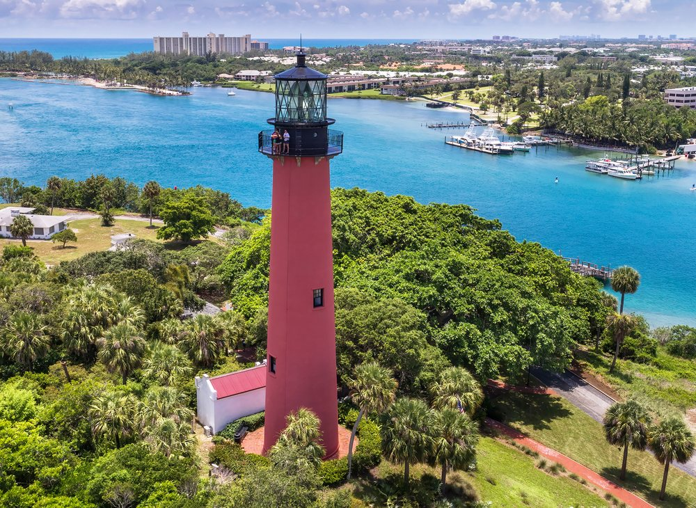 Jupiter Inlet Lighthouse and Museum: 500 Captain Armour's Way, Jupiter, FL
