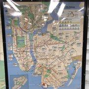 Subway Map Bay Ridge Area.Mta 95th Street Subway Station 21 Photos Public Transportation