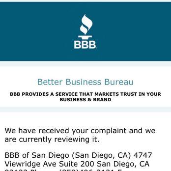 Better Business Bureau Enterprise Rent A Car