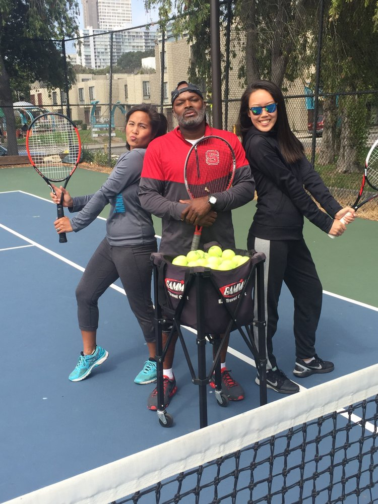 Tennis Lessons By Mcclain - San Francisco, CA, United States. coach McClain and his  Asian Angels :)