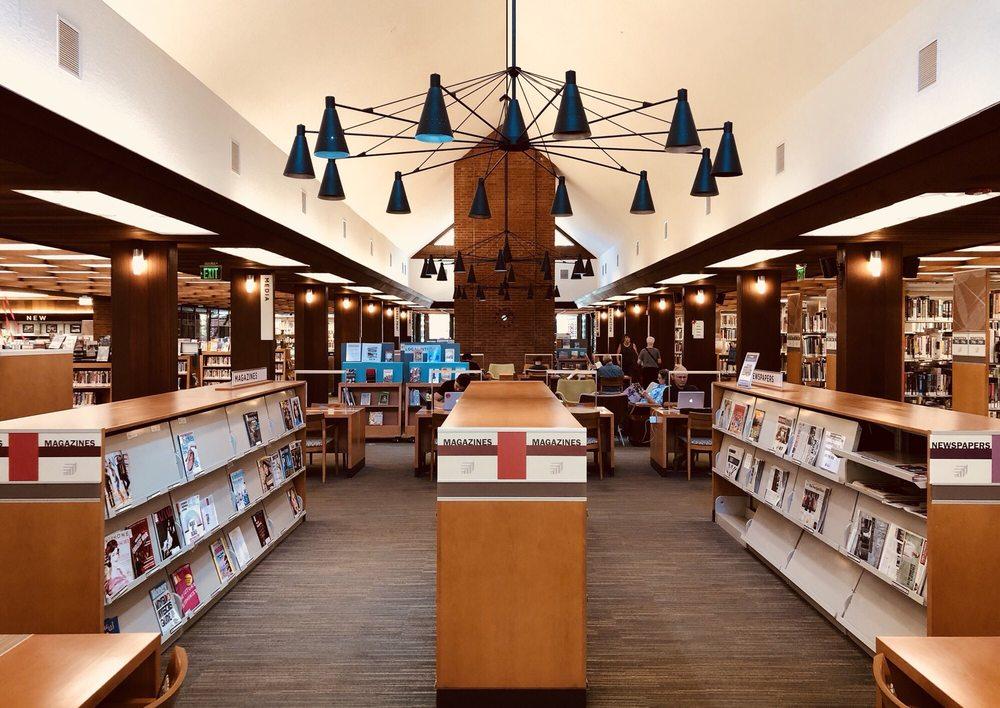City Of Palo Alto - Rinconada Library: 1213 Newell Rd, Palo Alto, CA