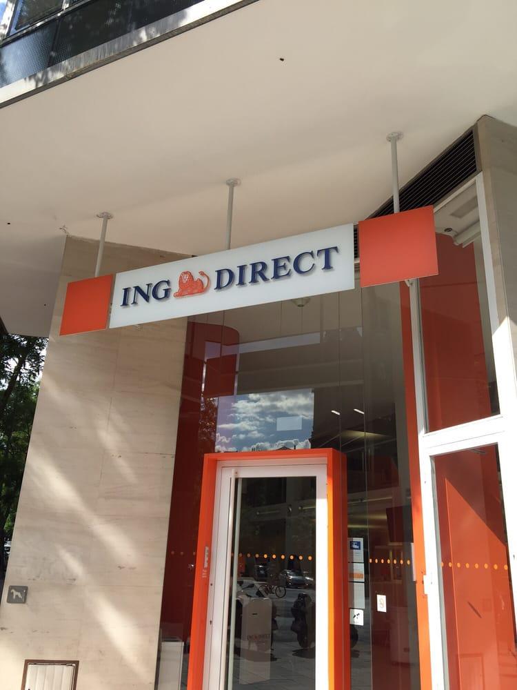 Ing direct banche istituti di credito calle viriato for Oficina ing direct madrid