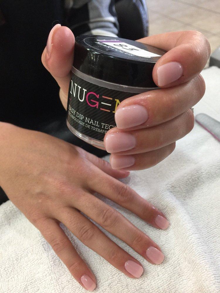 SNS (powder dipped Nails) - Yelp