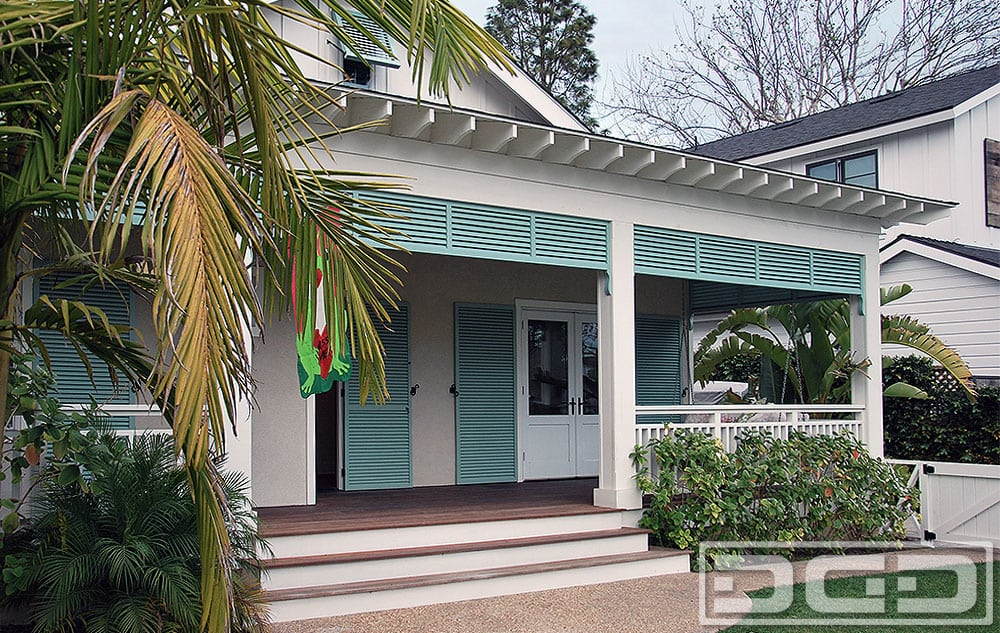 Bahama Style Louvered Shutters