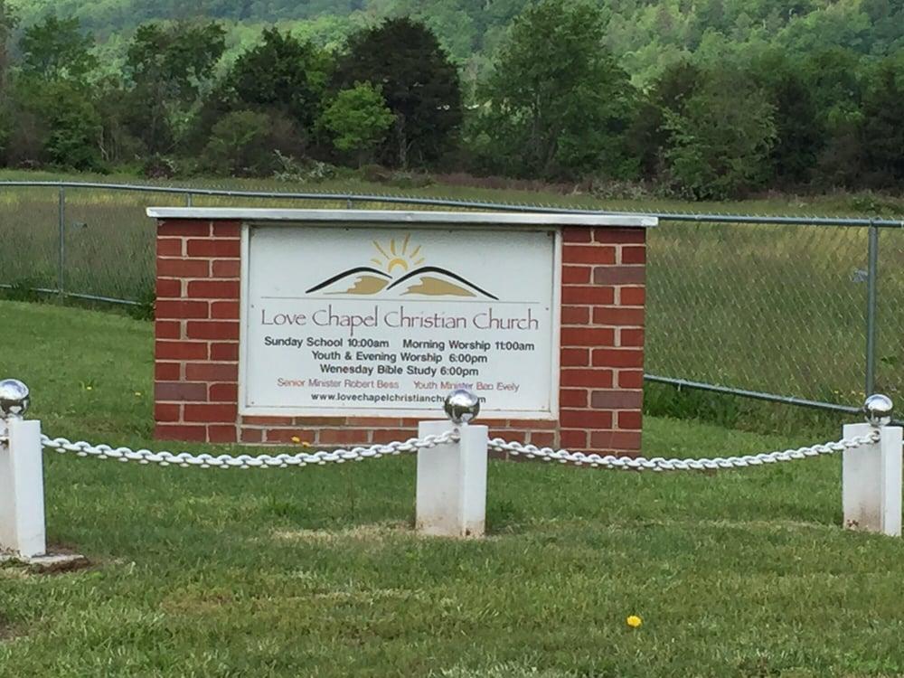 Love Chapel Christian Church: 1421 Love Station Rd, Erwin, TN