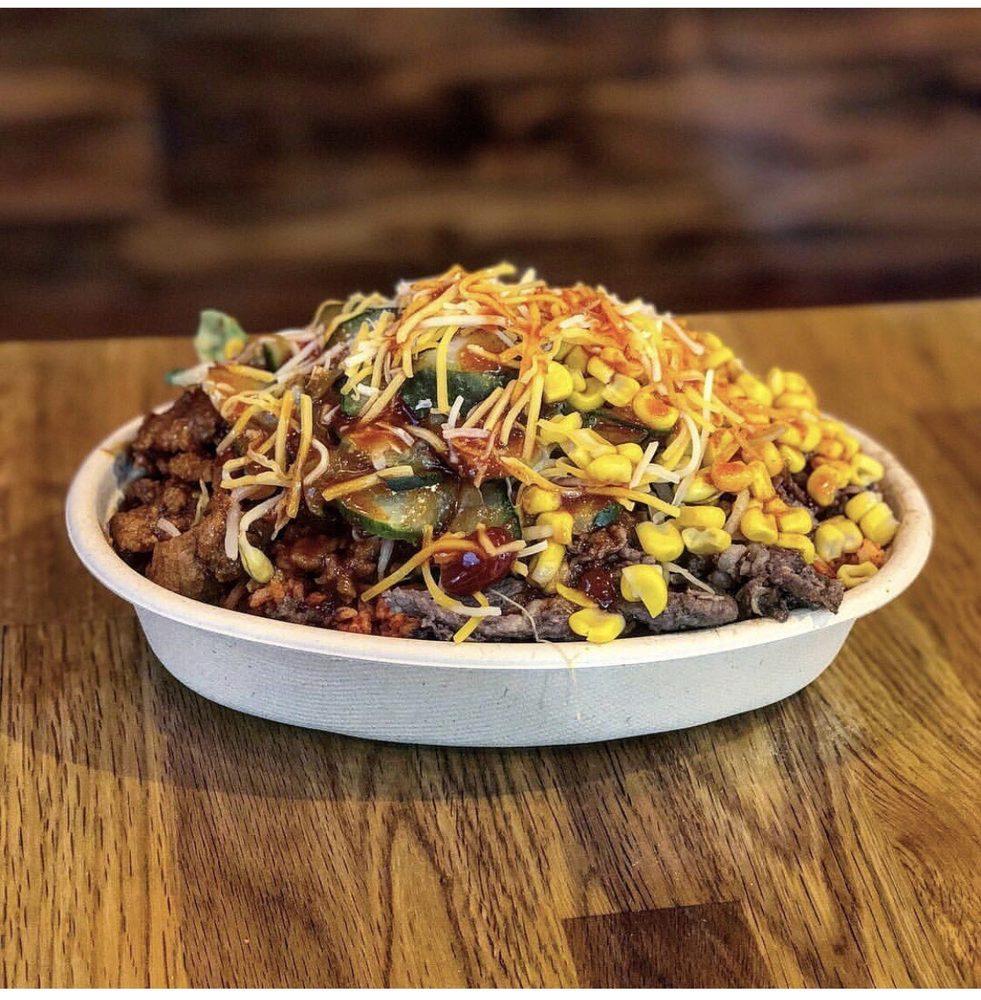 Food from KBG Korean BBQ & Grill