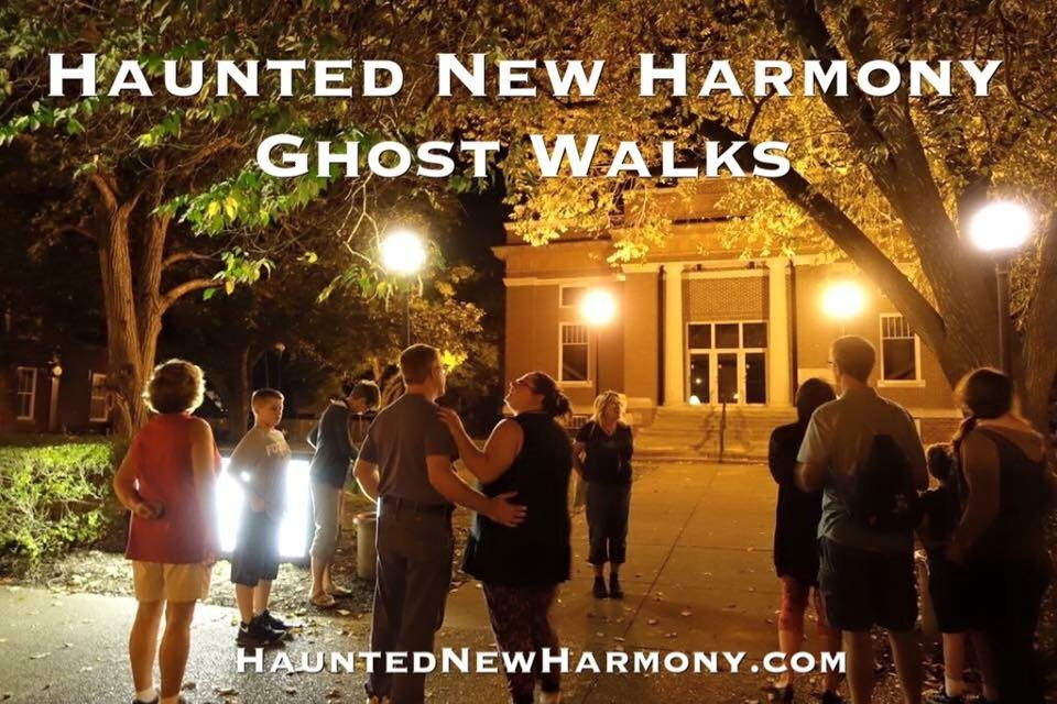 Haunted New Harmony Ghost Walks: 505 Church St, New Harmony, IN
