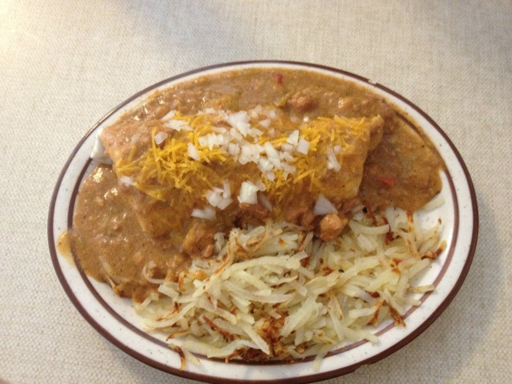 Photo of Bob and Earl's Cafe - Trinidad, CO, United States. Smothered Breakfast Burrito