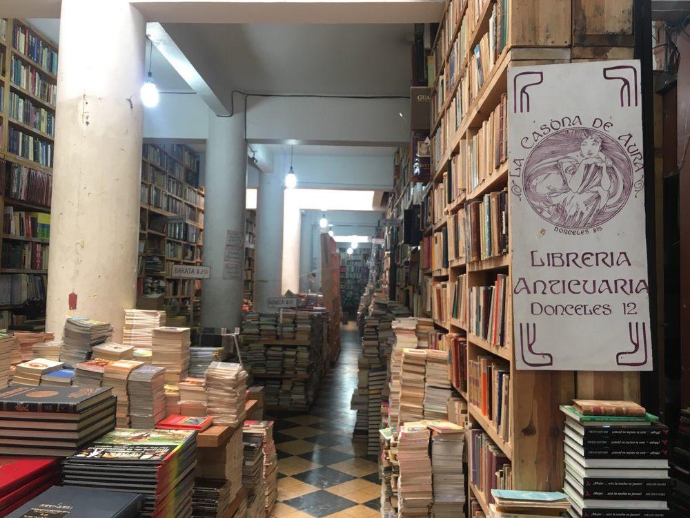La casona de aura librer as de segunda mano donceles 12 centro norte m xico d f n mero - Libreria casona aviles ...