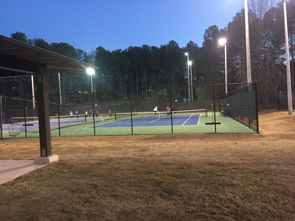 Harrison Tennis Center: 2653 Shallowford Rd NE, Marietta, GA