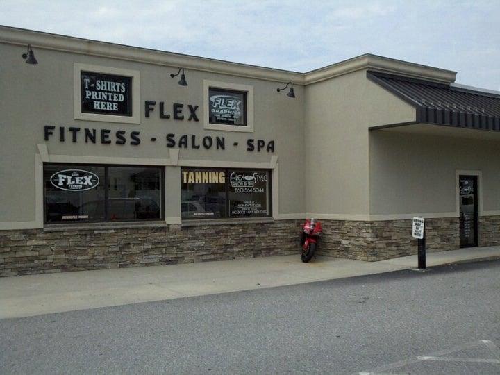 Flex Fitness Center: 32 Railroad Ave, Plainfield, CT