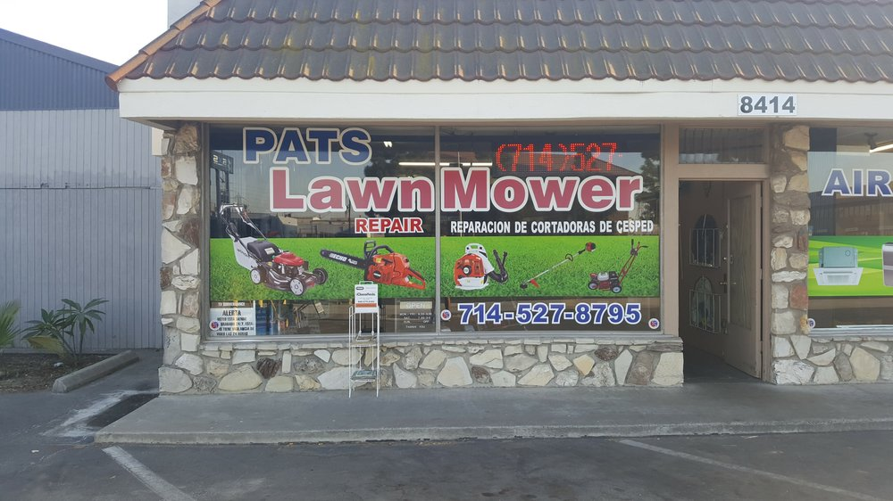 Pat s lawnmower saw shop casa y jard n 8414 katella ave stanton ca estados unidos for Jardin urbano shop telefono