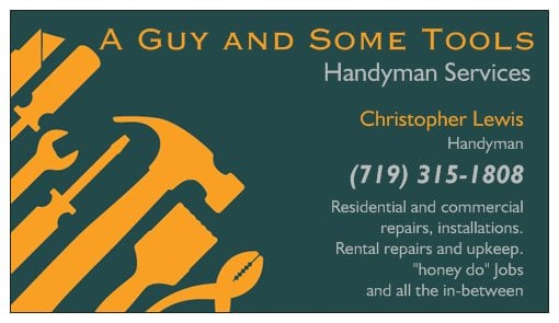 A Guy And Some Tools Handyman Services Handyman Canon