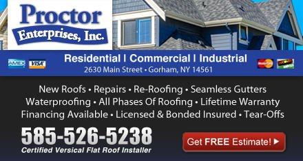 Proctor Enterprises: 2630 Main St, Gorham, NY
