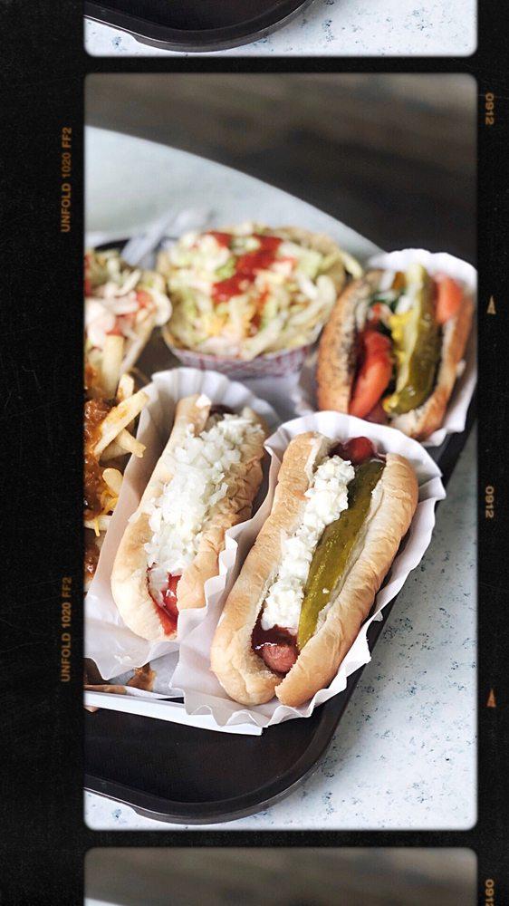 Food from Lipuma's Coney Island