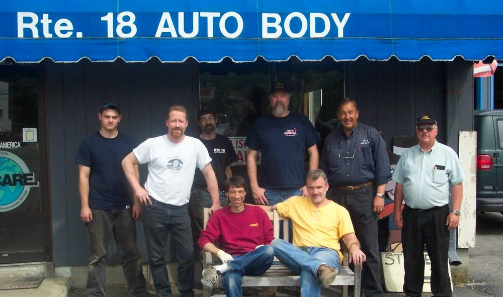 Route 18 Auto Body: 325 Washington St, Abington, MA