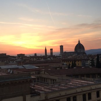 Photo Of Hotel Plaza Lucchesi Florence Firenze Italy Sunset From Rooftop