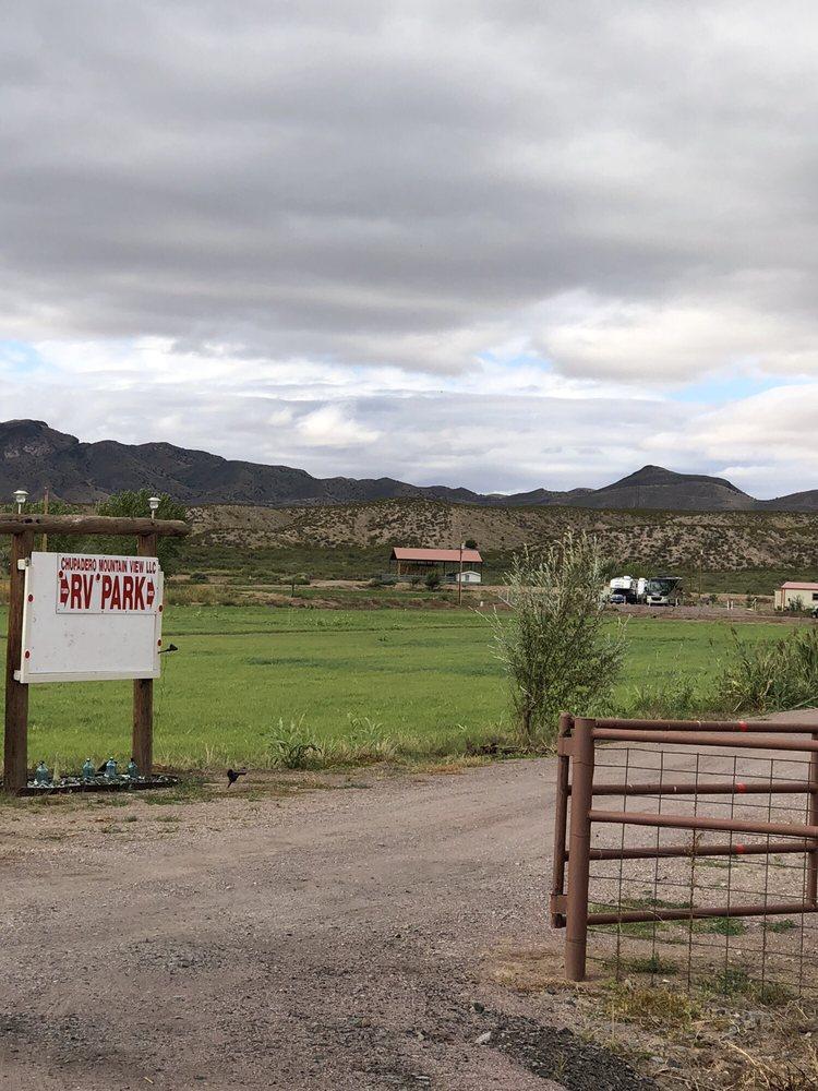 Chupadero Mt. View RV Park: 1523 NM-1, San Antonio, NM