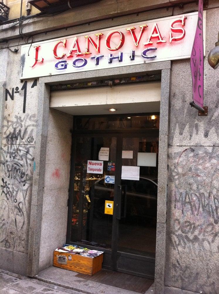 J Canovas Gothic