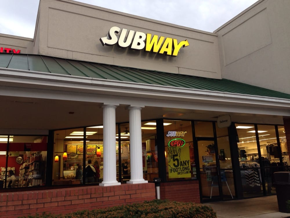 Subway: 360 Towne Center Dr, Abingdon, VA