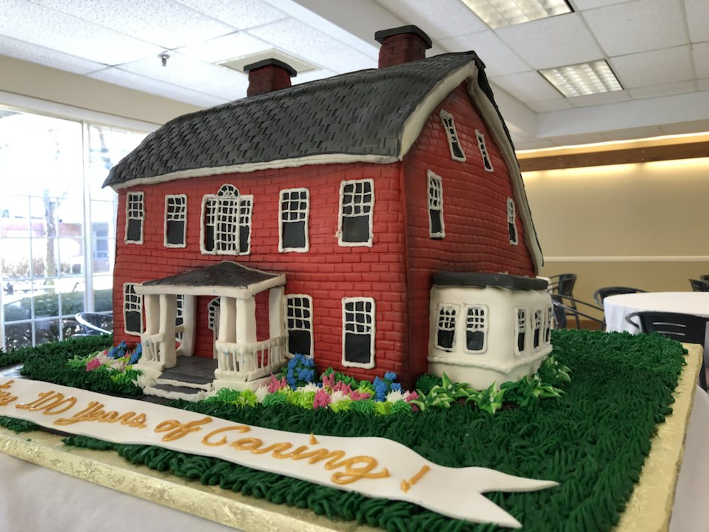 Cake For 100 Yr Anniversary Of The Lutheran Home In Southbury Yelp